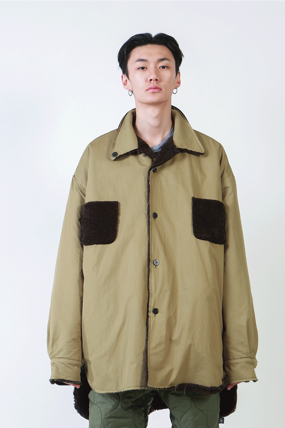 F/W18 MACHHA FUR SHIRT