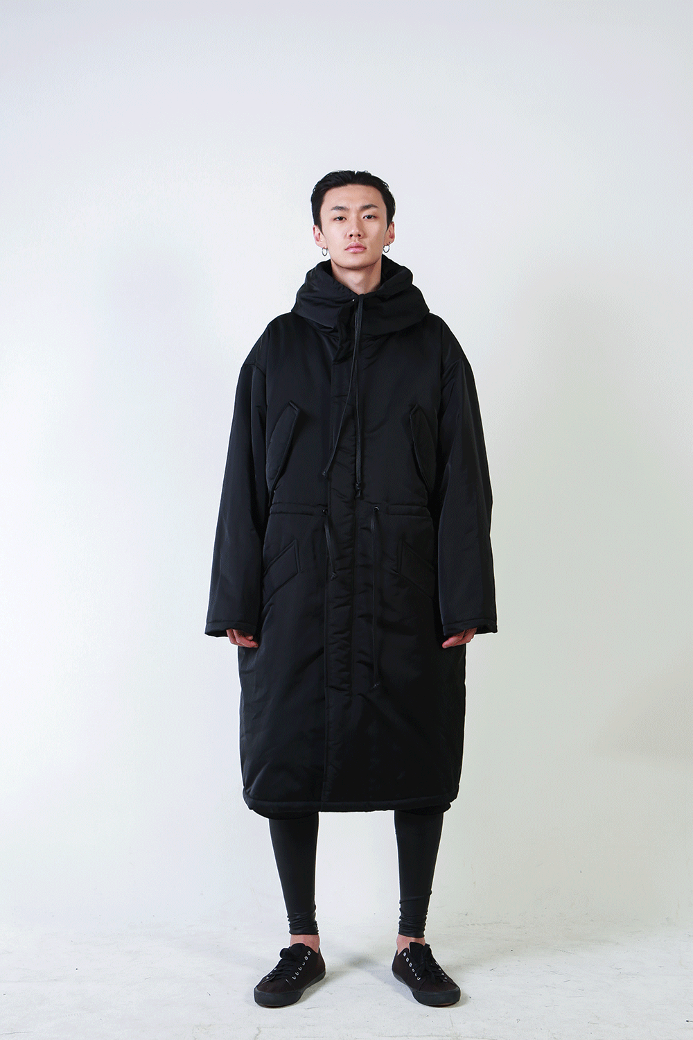 F/W18 KAN LONG HOODY COAT