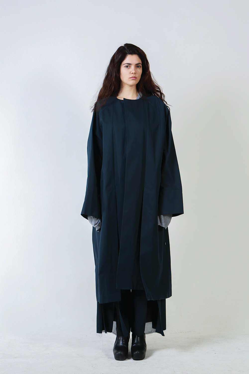 F/W18 ASSAM UNBLANCED LONG COAT